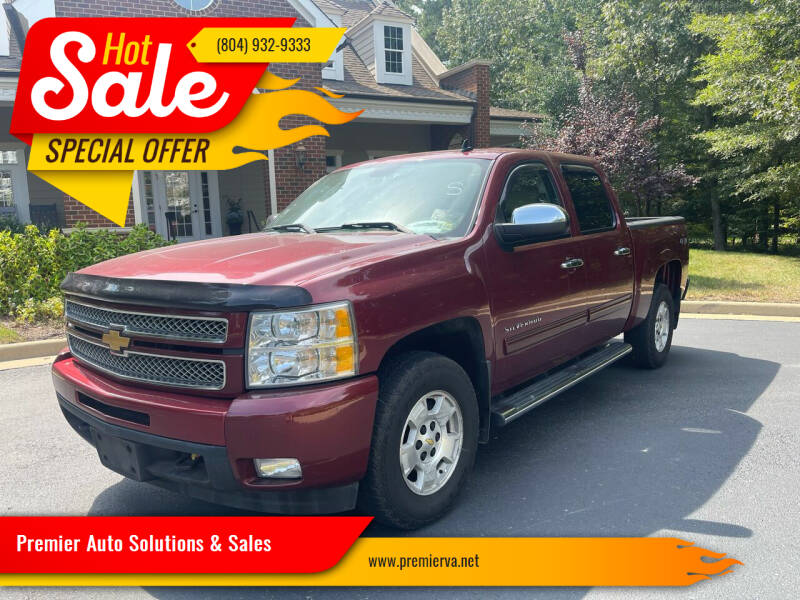 2013 Chevrolet Silverado 1500 for sale at Premier Auto Solutions & Sales in Quinton VA