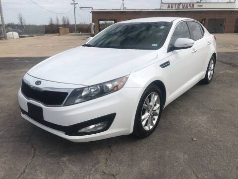 2012 Kia Optima for sale at Best Deal Auto Sales in Saint Charles MO