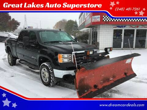 2014 GMC Sierra 2500HD for sale at Great Lakes Auto Superstore in Waterford Township MI