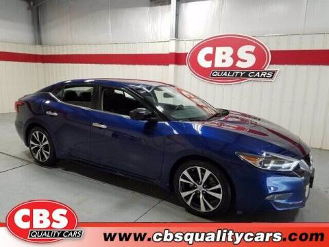 2017 Nissan Maxima for sale at CBS Quality Cars in Durham NC