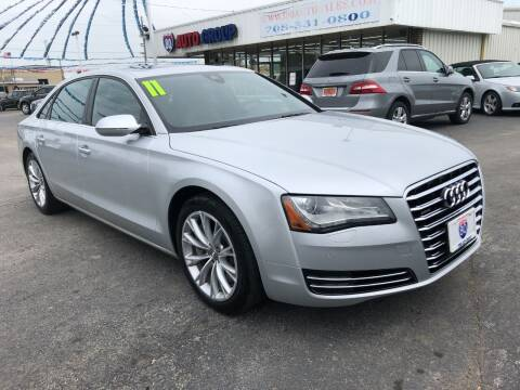 2011 Audi A8 L for sale at I-80 Auto Sales in Hazel Crest IL