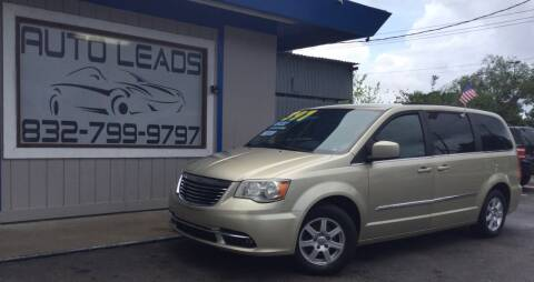 2011 Chrysler Town and Country for sale at AUTO LEADS in Pasadena TX