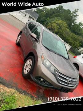 2013 Honda CR-V for sale at World Wide Auto in Fayetteville NC
