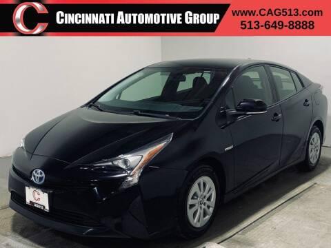 2016 Toyota Prius for sale at Cincinnati Automotive Group in Lebanon OH