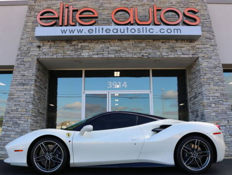 2017 Ferrari 488 GTB for sale at Elite Autos LLC in Jonesboro AR