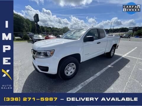 2018 Chevrolet Colorado for sale at Impex Auto Sales in Greensboro NC