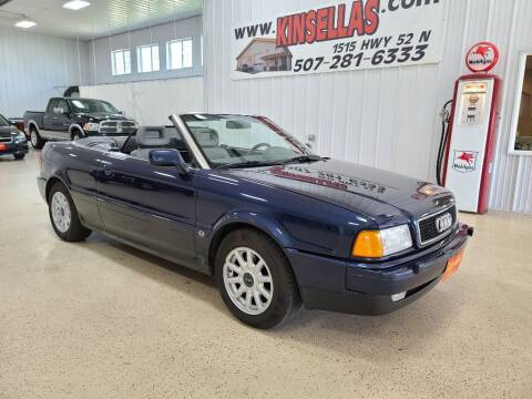 1996 Audi Cabriolet for sale at Kinsellas Auto Sales in Rochester MN