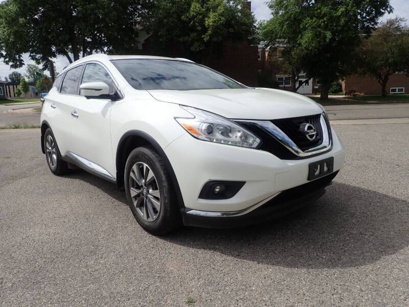 2017 Nissan Murano for sale at Marvel Automotive Inc. in Big Rapids MI