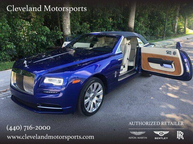 2017 Rolls-Royce Dawn for sale at Drive Options in North Olmsted OH