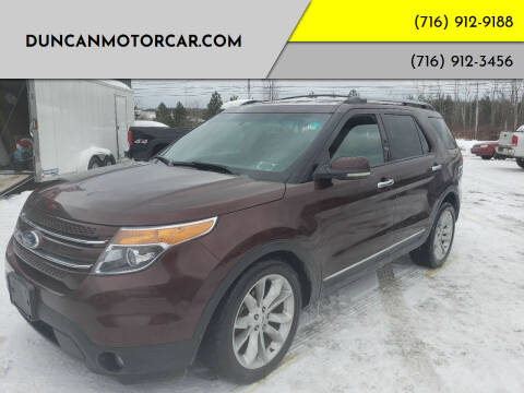 2012 Ford Explorer for sale at DuncanMotorcar.com in Buffalo NY
