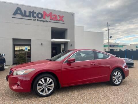 2010 Honda Accord for sale at AutoMax of Memphis - Alex Vivas in Memphis TN