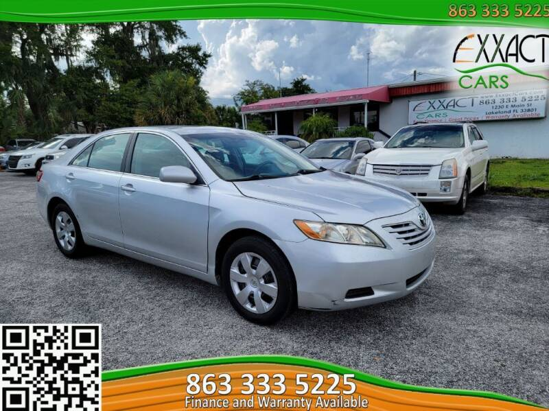2009 Toyota Camry for sale at Exxact Cars in Lakeland FL