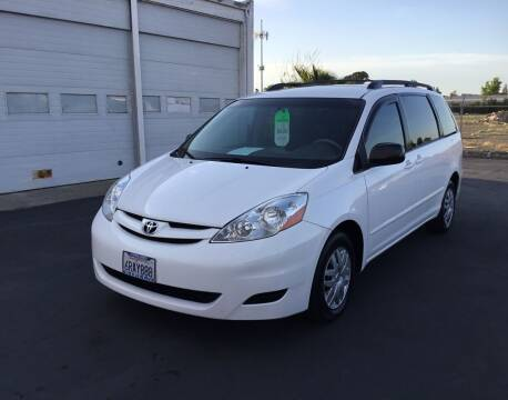 2008 Toyota Sienna for sale at My Three Sons Auto Sales in Sacramento CA