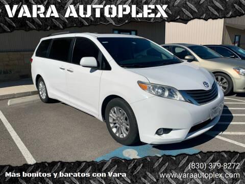 2011 Toyota Sienna for sale at VARA AUTOPLEX in Seguin TX