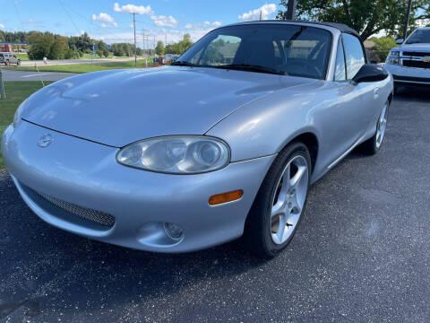 2001 Mazda MX-5 Miata for sale at Blake Hollenbeck Auto Sales in Greenville MI