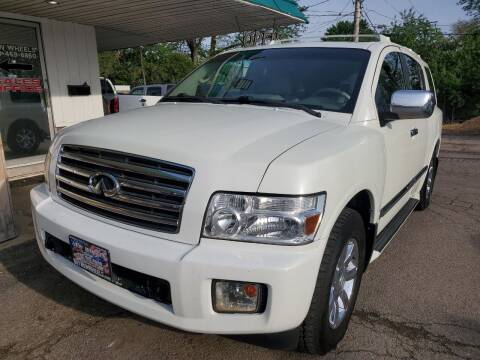 2004 Infiniti QX56 for sale at New Wheels in Glendale Heights IL