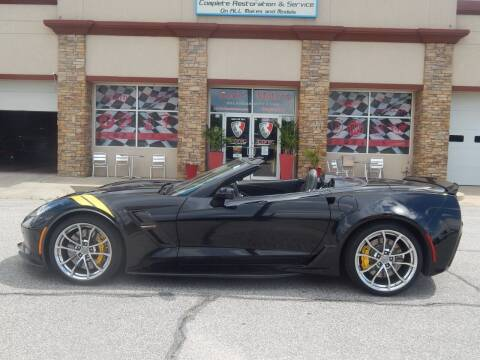 2017 Chevrolet Corvette for sale at Iconic Motors of Oklahoma City, LLC in Oklahoma City OK
