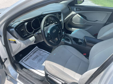 2013 Kia Optima for sale at P & A AUTO SALES in Houston TX