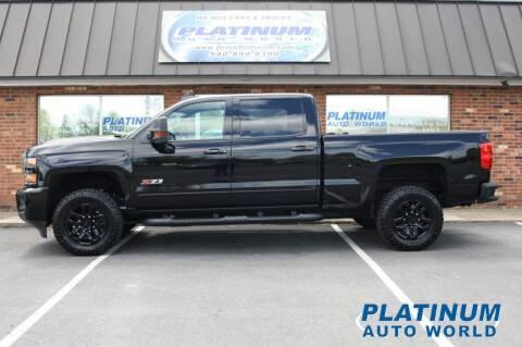 2019 Chevrolet Silverado 2500HD for sale at Platinum Auto World in Fredericksburg VA