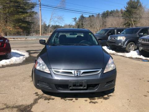 2007 Honda Accord for sale at Royal Crest Motors in Haverhill MA
