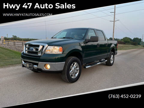 2008 Ford F-150 for sale at Hwy 47 Auto Sales in Saint Francis MN