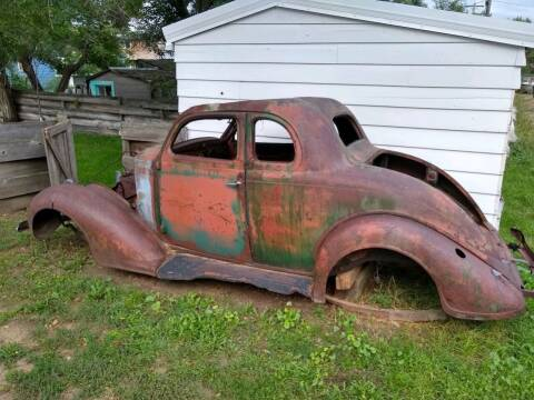 1936 Plymouth 2 Door Coupe for sale at MOPAR Farm - MT to Un-Restored in Stevensville MT