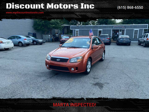 2008 Kia Spectra for sale at Discount Motors Inc in Madison TN