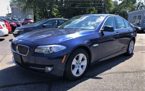 2013 BMW 5 Series for sale at Top Line Import in Haverhill MA