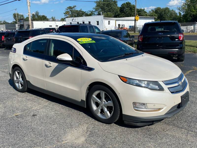 2012 Chevrolet Volt for sale at MetroWest Auto Sales in Worcester MA