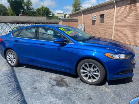 2017 Ford Fusion for sale at Wilkinson Used Cars in Milledgeville GA