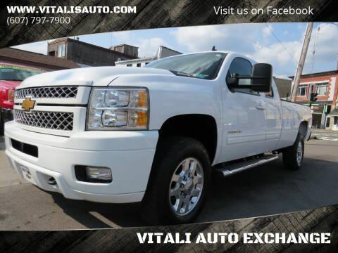 2013 Chevrolet Silverado 3500HD for sale at VITALI AUTO EXCHANGE in Johnson City NY