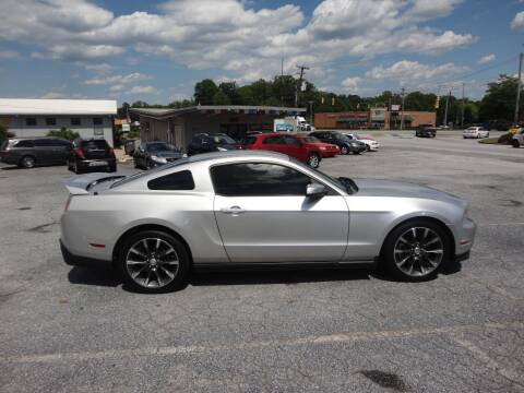 2011 Ford Mustang for sale at HAPPY TRAILS AUTO SALES LLC in Taylors SC