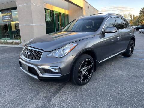 2017 Infiniti QX50 for sale at AutoHaus in Colton CA