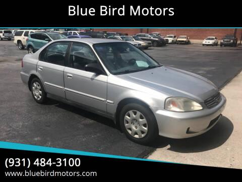 2000 Honda Civic for sale at Blue Bird Motors in Crossville TN