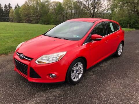 2012 Ford Focus for sale at Hutchys Auto Sales & Service in Loyalhanna PA