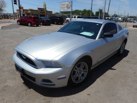 2014 Ford Mustang for sale at AUGE'S SALES AND SERVICE in Belen NM