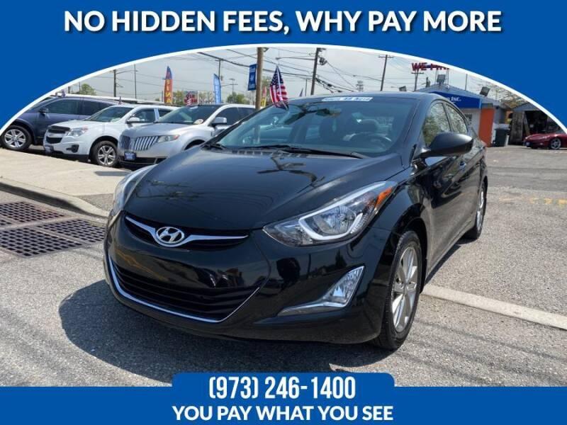 2014 Hyundai Elantra for sale at Route 46 Auto Sales Inc in Lodi NJ