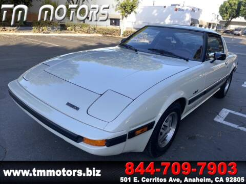 1983 Mazda RX-7 for sale at TM Motors in Anaheim CA