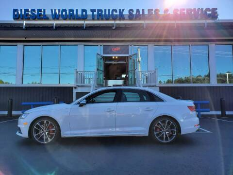 2018 Audi S4 for sale at Diesel World Truck Sales in Plaistow NH