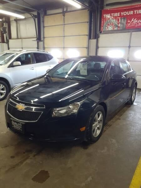 2014 Chevrolet Cruze for sale at QUALITY MOTORS in Cuba City WI