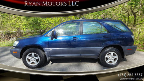 2002 Lexus RX 300 for sale at Ryan Motors LLC in Warsaw IN