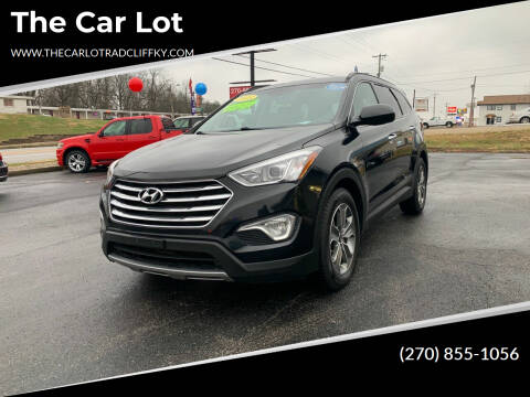 2015 Hyundai Santa Fe for sale at The Car Lot in Radcliff KY