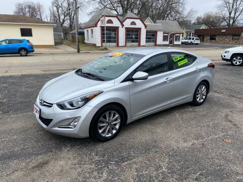 2015 Hyundai Elantra for sale at PEKIN DOWNTOWN AUTO SALES in Pekin IL