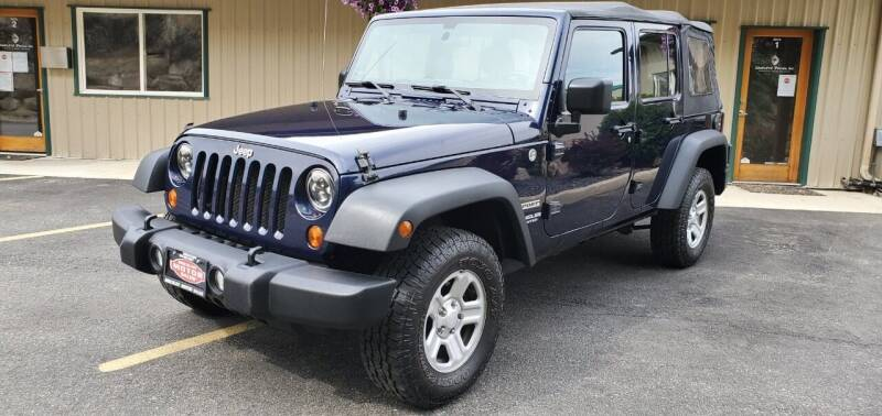 2013 Jeep Wrangler Unlimited for sale at Discount Motor Sales LLC in Wenatchee WA