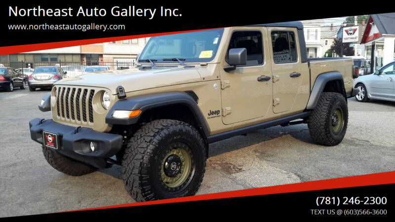 2020 Jeep Gladiator for sale at Northeast Auto Gallery Inc. in Wakefield MA