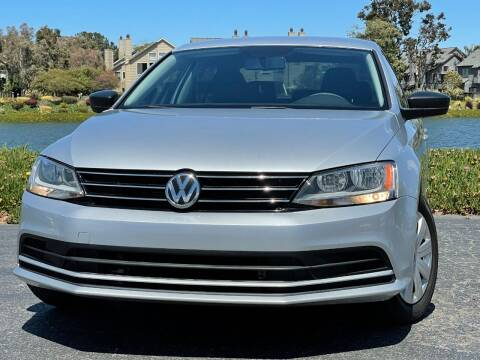 2015 Volkswagen Jetta for sale at Continental Car Sales in San Mateo CA