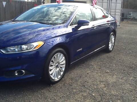 2014 Ford Fusion Hybrid for sale at Lance Motors in Monroe Township NJ