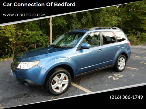 2010 Subaru Forester for sale at Car Connection of Bedford in Bedford OH