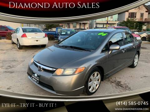 2006 Honda Civic for sale at Diamond Auto Sales in Milwaukee WI