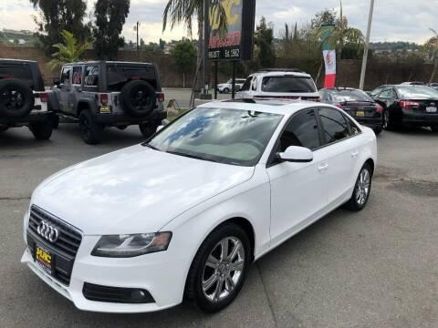2010 Audi A4 for sale at Mac Auto Inc in La Habra CA